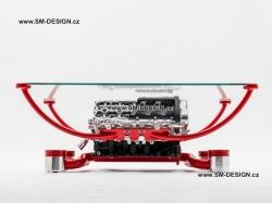 Lamborghini Gallardo - stůl s vůní benzínu