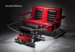 Exklusivní interiér Ferrari F355
